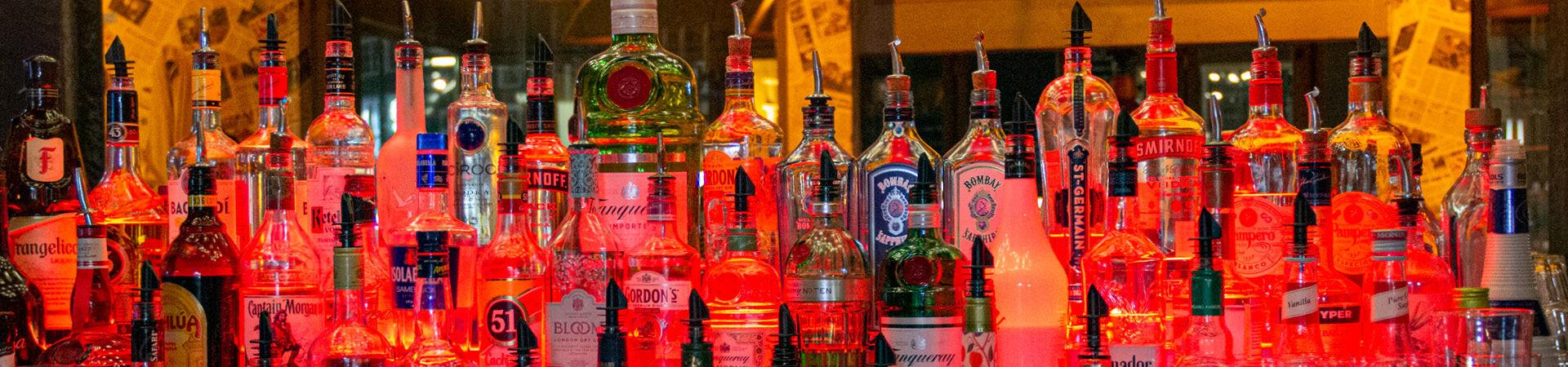 Cocktails en wijnen