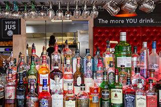 Cocktails en Wijnen dranken